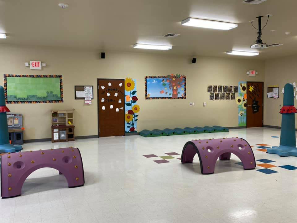 Classrooms Designed for Lots Of Movement And Physical Development at a Preschool & Daycare Serving New Braunfels, TX