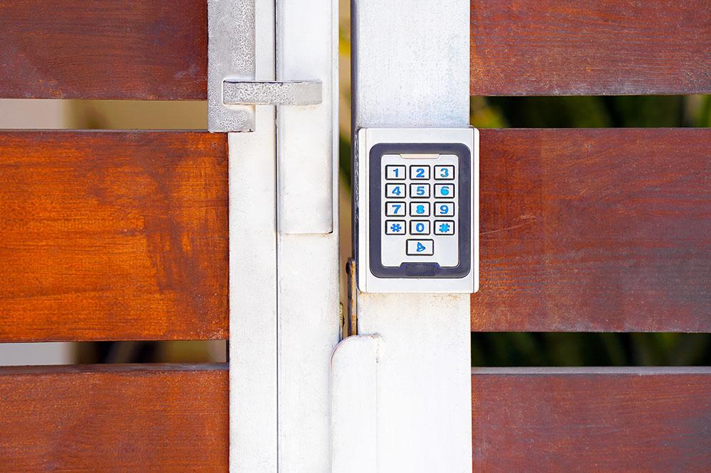 Digital security keypad at a Preschool & Daycare Serving New Braunfels, TX