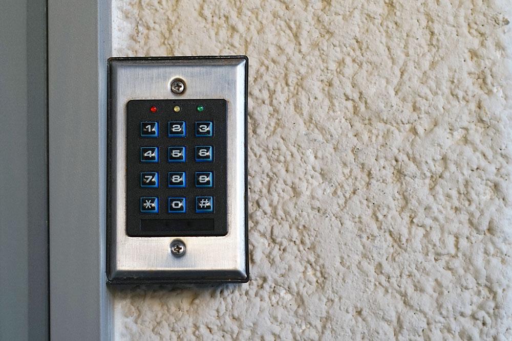 Security keypad system at a Preschool & Daycare Serving New Braunfels, TX