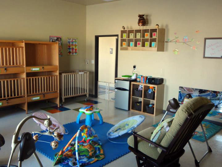 infant room at a Preschool & Daycare Serving New Braunfels, TX
