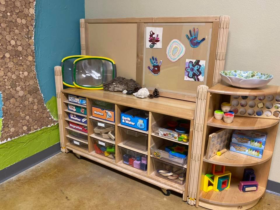 sensory room at a Preschool & Daycare Serving New Braunfels, TX