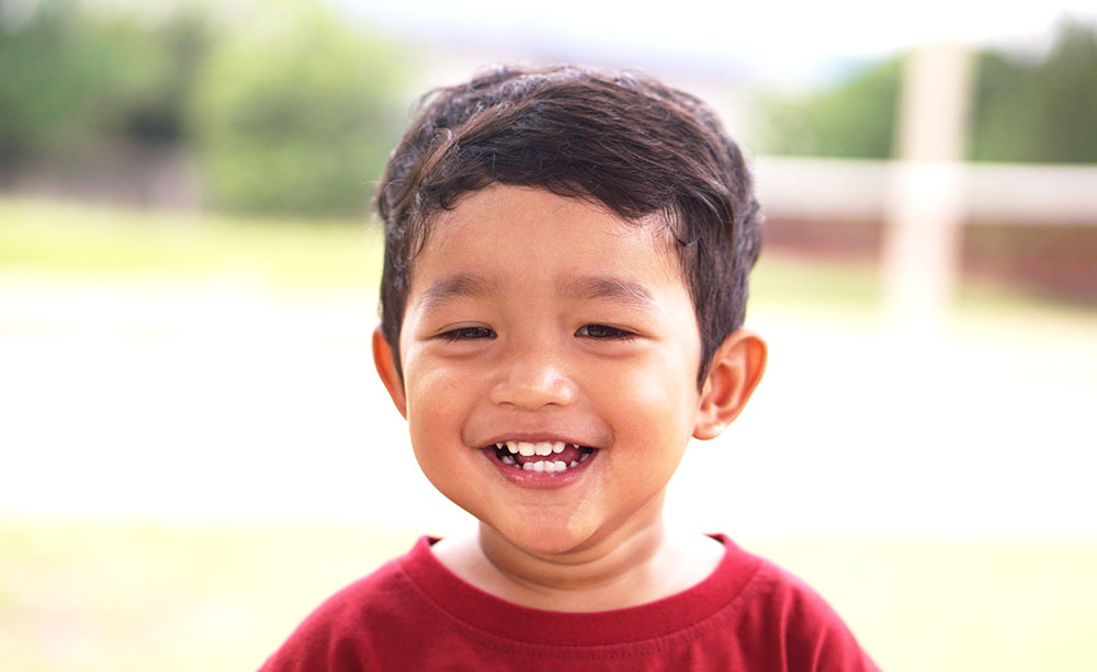 young smiling boy at a Preschool & Daycare Serving New Braunfels, TX