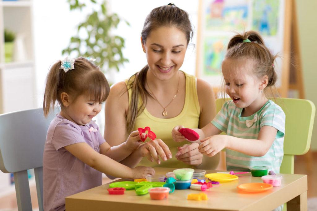 Children Playing with Kindergarten Teacher at a Preschool & Daycare Serving New Braunfels, TX.jpg